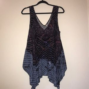 Small Free People Flowy Tribal Tank